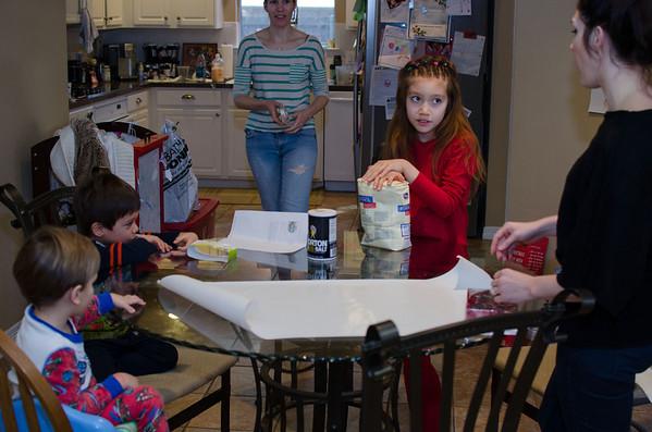 Visiting the cousins Dec 2012